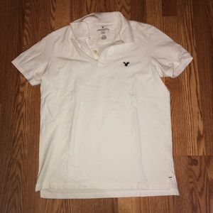 White American Eagle Flex Polo Shirt Size Med.